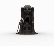 Cute little grim reaper Stock Photo