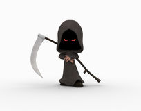 Cute little grim reaper Stock Image