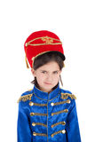 Cute little hussar Stock Images