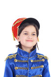 Cute little hussar Stock Photography