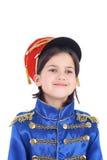 Cute little hussar Stock Photography