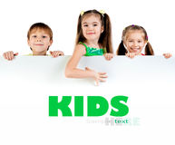Cute little kids Stock Photos