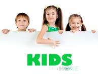 Cute little kids stock photos