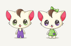 Cute little kitty Stock Photos