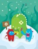 Cute little monster Stock Photos