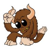 Cute little monster Royalty Free Stock Images
