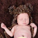 Cute little Newborn Baby boy posing for camera Stock Photography