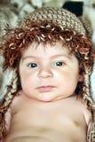 Cute little Newborn Baby boy Royalty Free Stock Photo
