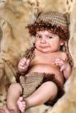 Cute little Newborn Baby boy Stock Images