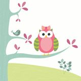 Cute little owl Stock Image