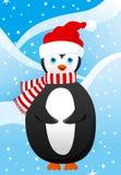 Cute little penguin. Vector illustration Stock Image