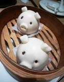 Cute Little Piggy Bun Stock Images