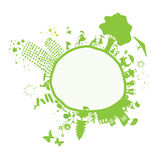 Cute little planet earth Royalty Free Stock Photo