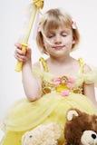 Cute little princess. Stock Photo