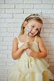 Cute little princess Royalty Free Stock Image