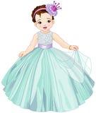 Cute Little Princess Royalty Free Stock Photos