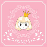 Cute little princess. Royalty Free Stock Image