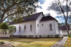 Cute little quiet church Stock Photo