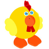 Cute little rooster Royalty Free Stock Image