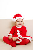 Cute little santa Stock Photos