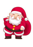 Cute little Santa Royalty Free Stock Images