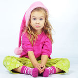 Cute little Santa helper Royalty Free Stock Photography