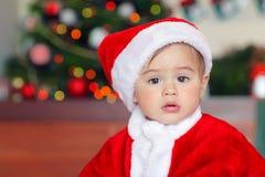 Cute little Santa royalty free stock photos