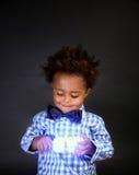 Cute little scientist Stock Photos