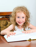 Cute little smiling girl Royalty Free Stock Photo