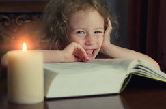 Cute little smiling girl Stock Image
