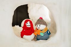 cute little snowman Stock Photography