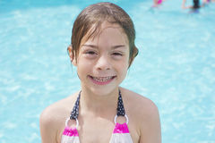 Cute Little Swimmer Royalty Free Stock Image