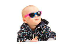 Cute little toddler boy Royalty Free Stock Photography