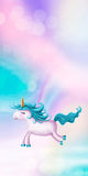 Cute little unicorn Royalty Free Stock Photography