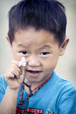 Cute little Vietnamese boy Royalty Free Stock Photos