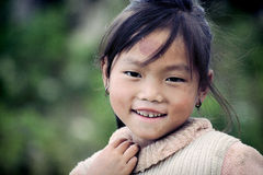 Cute little Vietnamese girl Stock Images