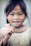Cute little Vietnamese girl Stock Photography