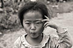 Cute little Vietnamese girl Royalty Free Stock Image