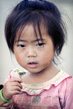 Cute little Vietnamese girl Royalty Free Stock Photos