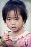 Cute little Vietnamese girl Royalty Free Stock Photos