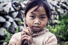 Cute little Vietnamese girl Stock Image