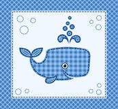 Cute little whale Royalty Free Stock Image