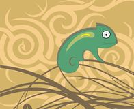 Cute lizard Stock Photos