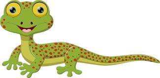 Cute lizard cartoon Royalty Free Stock Images