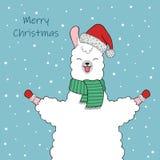 Cute Llama Character Stock Images