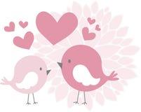 Cute love birds Royalty Free Stock Photography