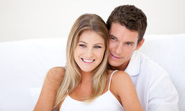 Cute lovers Stock Photos