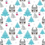 Cute lynx patter Stock Images