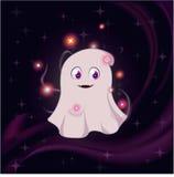 Cute magic ghost Royalty Free Stock Photo