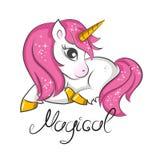 Cute little unicorn.